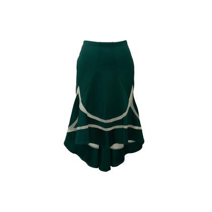 Authentic Second Hand Junya Watanabe Mesh Panelled Skirt (PSS-043-00031)