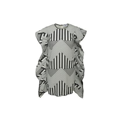 Authentic Second Hand MSGM Striped Boxy Mini Dress (PSS-A50-00105)