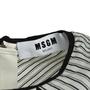 Authentic Second Hand MSGM Striped Boxy Mini Dress (PSS-A50-00105) - Thumbnail 2