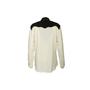 Authentic Second Hand Bottega Veneta Arrow Two Tone Silk Shirt (PSS-617-00129) - Thumbnail 1
