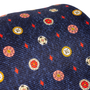 Authentic Second Hand Bulgari Navy Printed Silk Tie (PSS-A50-00141) - Thumbnail 5