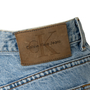 Authentic Second Hand Calvin Klein Jeans Stone Washed Bootleg Jeans (PSS-637-00176) - Thumbnail 2