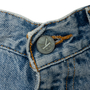 Authentic Second Hand Calvin Klein Jeans Stone Washed Bootleg Jeans (PSS-637-00176) - Thumbnail 3