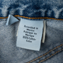 Authentic Second Hand Calvin Klein Jeans Stone Washed Bootleg Jeans (PSS-637-00176) - Thumbnail 4