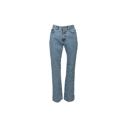 Authentic Second Hand Calvin Klein Jeans Stone Washed Bootleg Jeans (PSS-637-00176)