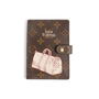 Authentic Second Hand Louis Vuitton Small Ring Agenda Cover (PSS-017-00027) - Thumbnail 0