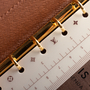 Authentic Second Hand Louis Vuitton Small Ring Agenda Cover (PSS-017-00027) - Thumbnail 5