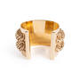 Authentic Second Hand Givenchy Chainlink Metal Cuff (PSS-017-00031) - Thumbnail 2