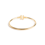 Authentic Second Hand Tiffany & Co T Diamond Wire Bracelet (PSS-094-00037) - Thumbnail 2