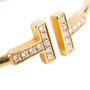 Authentic Second Hand Tiffany & Co T Diamond Wire Bracelet (PSS-094-00037) - Thumbnail 4