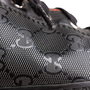 Authentic Second Hand Gucci GG Imprimé Leather Sneakers (PSS-B68-00004) - Thumbnail 9