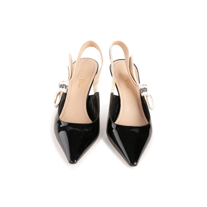 Authentic Second Hand Christian Dior J'Adior Patent Slingback Pumps (PSS-292-00021)