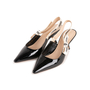 Authentic Second Hand Christian Dior J'Adior Patent Slingback Pumps (PSS-292-00021) - Thumbnail 3