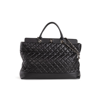 Authentic Second Hand Chanel Be CC Tote Large Bag (PSS-292-00023)