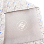 Authentic Second Hand Chanel CC Grey Silk Tie (PSS-B28-00019) - Thumbnail 4