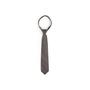 Authentic Second Hand Bulgari Muse Delle Arti Grey Silk Tie (PSS-B28-00022) - Thumbnail 0