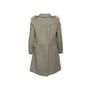 Authentic Second Hand Prada Grey Wool Empire Dress Coat (PSS-B70-00004) - Thumbnail 1