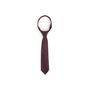 Authentic Second Hand Chanel CC Purple Silk Tie (PSS-B28-00023) - Thumbnail 0