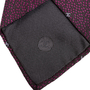 Authentic Second Hand Chanel CC Purple Silk Tie (PSS-B28-00023) - Thumbnail 3