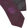 Authentic Second Hand Chanel CC Purple Silk Tie (PSS-B28-00023) - Thumbnail 4