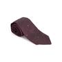 Authentic Second Hand Chanel CC Purple Silk Tie (PSS-B28-00023) - Thumbnail 7