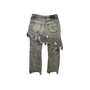 Authentic Second Hand R13 Double Classic Distressed Skirted Jeans (PSS-444-00058) - Thumbnail 1