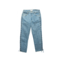 Authentic Second Hand Jonathan Simkhai Braided Lace-Up Jeans (PSS-444-00059) - Thumbnail 0