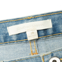 Authentic Second Hand Jonathan Simkhai Braided Lace-Up Jeans (PSS-444-00059) - Thumbnail 3