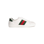 Authentic Second Hand Gucci Ace Leather Sneakers (PSS-B23-00006) - Thumbnail 1