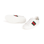Authentic Second Hand Gucci Ace Leather Sneakers (PSS-B23-00006) - Thumbnail 4