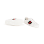 Authentic Second Hand Gucci Ace Leather Sneakers (PSS-B23-00006) - Thumbnail 5