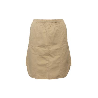 Authentic Second Hand Marni Khaki A-Line Skirt (PSS-561-00090)