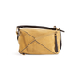 Authentic Second Hand Loewe Suede Medium Puzzle Bag (PSS-B79-00002) - Thumbnail 2