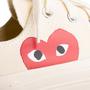 Authentic Second Hand Play Comme des Garçons Peek-A-Boo Heart Sneakers (PSS-B79-00010) - Thumbnail 7