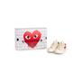 Authentic Second Hand Play Comme des Garçons Peek-A-Boo Heart Sneakers (PSS-B79-00010) - Thumbnail 8