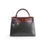 Authentic Second Hand Hermès Tri-Colour Kelly 28 Bag  (PSS-B79-00011) - Thumbnail 0