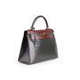Authentic Second Hand Hermès Tri-Colour Kelly 28 Bag  (PSS-B79-00011) - Thumbnail 1