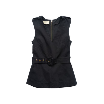 Authentic Second Hand Marni Belted Flare Top (PSS-561-00096)