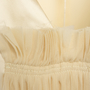 Authentic Second Hand Maison Martin Margiela Pleated Front Satin Dress (PSS-561-00123) - Thumbnail 3