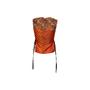 Authentic Second Hand Maison Martin Margiela Jacquard Tie Wrap Top (PSS-561-00105) - Thumbnail 1