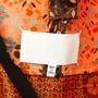Authentic Second Hand Maison Martin Margiela Jacquard Tie Wrap Top (PSS-561-00105) - Thumbnail 2