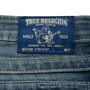 Authentic Second Hand True Religion Diamond Studded Straight Cut Jeans (PSS-A44-00039) - Thumbnail 2