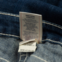 Authentic Second Hand True Religion Diamond Studded Straight Cut Jeans (PSS-A44-00039) - Thumbnail 6