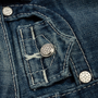 Authentic Second Hand True Religion Diamond Studded Straight Cut Jeans (PSS-A44-00039) - Thumbnail 4