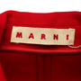 Authentic Second Hand Marni Red Wool Blazer Jacket (PSS-A44-00041) - Thumbnail 2