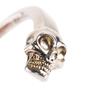 Authentic Second Hand Alexander McQueen Twin Skull Cuff Bracelet (PSS-B89-00001) - Thumbnail 4