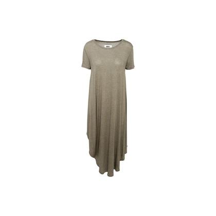 Authentic Second Hand Maison Martin Margiela Grey Short Sleeves 3-Way Dress (PSS-B65-00049)