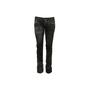 Authentic Second Hand Lucien Pellet-Finet Black Metallic Sheen Jeans (PSS-B65-00058) - Thumbnail 0