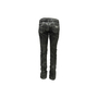 Authentic Second Hand Lucien Pellet-Finet Black Metallic Sheen Jeans (PSS-B65-00058) - Thumbnail 1