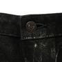 Authentic Second Hand Lucien Pellet-Finet Black Metallic Sheen Jeans (PSS-B65-00058) - Thumbnail 3